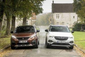 L'Opel Grandland X défie le Peugeot 3008