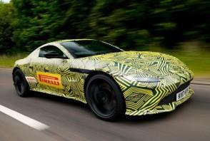 Nouvelles photos de l'Aston Martin Vantage