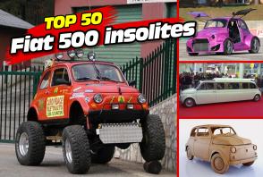 Le Top 50 des Fiat 500 insolites