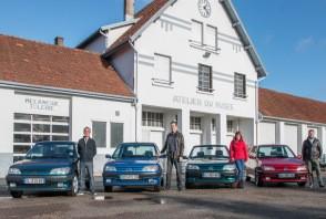 Revivez la restauration des Peugeot 306 en images