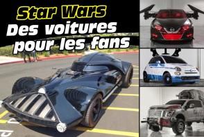 Les meilleures voitures pour les fans de Star Wars