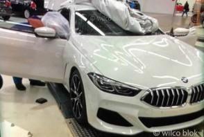 BMW Série 8 : premières photos décamouflées