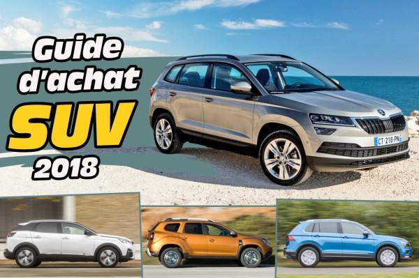 Quels sont les meilleurs SUV compacts en 2018 ?