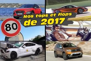 Les tops et flops 2017 de la rédaction