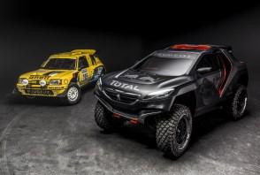 Toutes les Peugeot au Dakar en 40 photos