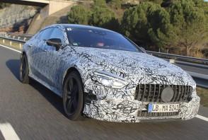 Mercedes AMG GT, 1ères photos avant Genève