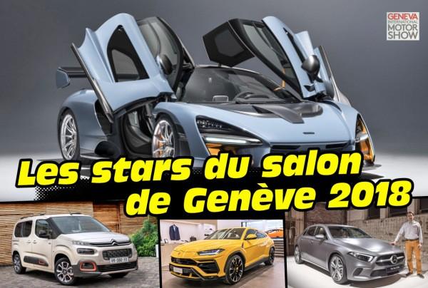 Toutes les stars à l'affiche du salon de l'auto suisse