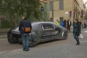 Un drôle de concept Renault à Barcelone