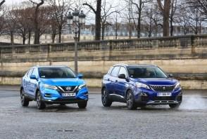 Peugeot 3008 BlueHDi 130 face au Nissan Qashqai