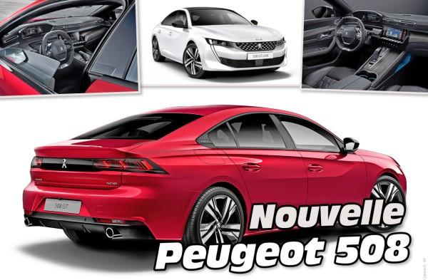 Toutes les infos et photos de la nouvelle Peugeot 508