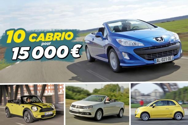 guide d 39 achat 10 cabriolets d 39 occasion moins de 15 000 euros l 39 argus. Black Bedroom Furniture Sets. Home Design Ideas