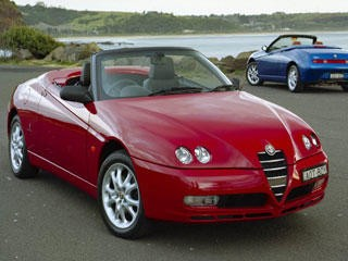 alfa romeo spider 2 4 jtdm 20v photo 1 l 39 argus. Black Bedroom Furniture Sets. Home Design Ideas