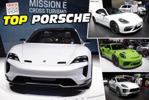 Top Porsche au salon de Genève 2018