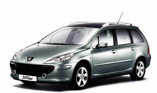 peugeot 307 break 1 6 hdi l 39 argus. Black Bedroom Furniture Sets. Home Design Ideas