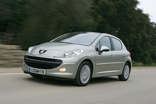 peugeot 206 face peugeot 207 photo 1 l 39 argus. Black Bedroom Furniture Sets. Home Design Ideas