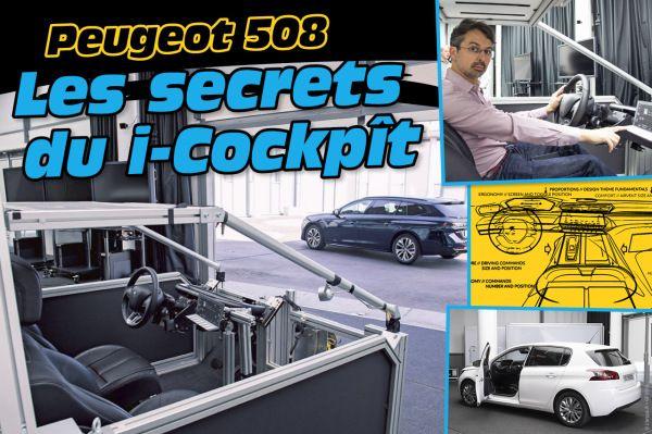 Peugeot 508 : les secrets du i-Cockpit