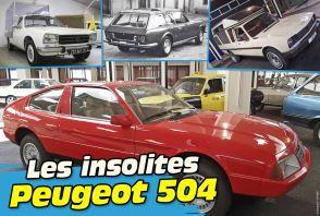 50 ans de la Peugeot 504. Le top des modèles insolites