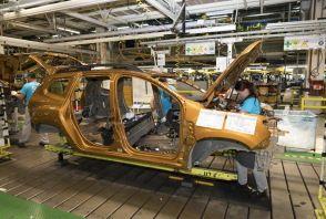 Au cœur de l'usine Dacia