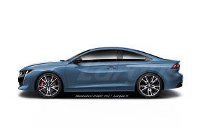Peugeot 508 Coupé : le bleu de la victoire !
