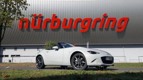 La Mazda MX-5 184 ch à l'assaut du Nürburgring !