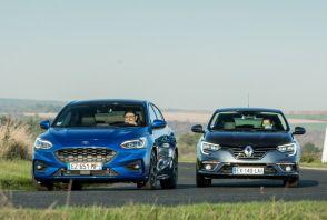 La Ford Focus face à la Renault Mégane essence