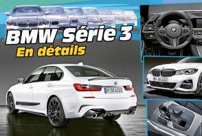 Découvrez la nouvelle BMW Série 3 en détail