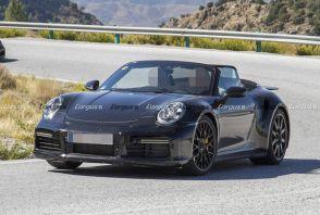 Porsche 911. La version cabriolet surprise en Espagne