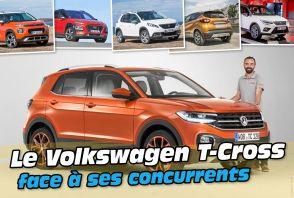 Le VW T-Cross face à ses cinq concurrents
