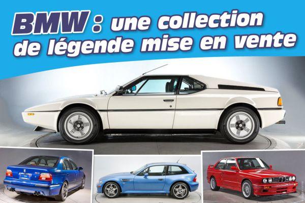 BMW : une collection de légende mise en vente