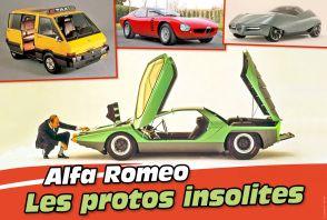 Les étonnants concepts d'Alfa Romeo