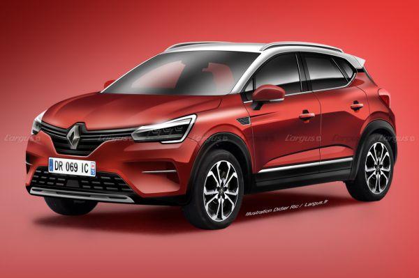 Renault Captur 2019. Les secrets du nouveau Captur 2