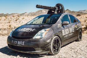 Une Toyota Prius transformée en... char d'assaut !