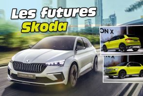 Les futures Skoda jusqu'en 2021