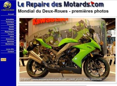 david morcrette fondateur du site internet le repaire des motards l 39 argus. Black Bedroom Furniture Sets. Home Design Ideas