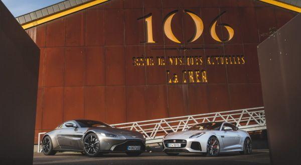 Aston Martin Vantage vs Jaguar F-Type