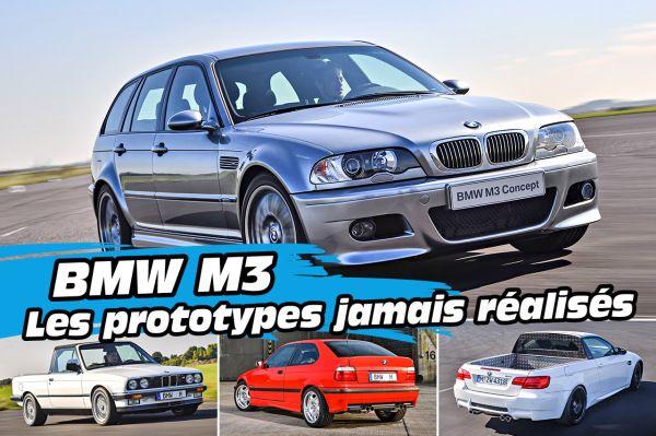 BMW M3 : les prototypes jamais réalisés