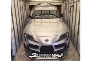 Voici le museau de la nouvelle Toyota Supra