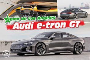 L'Audi e-tron GT concept en détail.