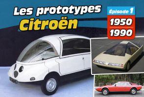 Les prototypes Citroën en images (épisode 1)