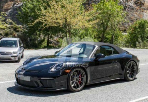 Porsche 911 (2019): une version GT3 cabriolet pour la première fois?