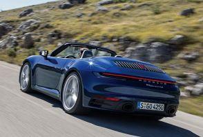 Porsche 911 Cabriolet : la 992 enlève le haut