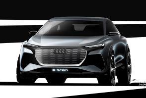 1ères images du futur SUV compact électrique