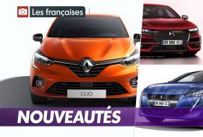 Les nouvelles voitures françaises de 2019