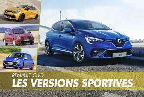 Renault Clio : toutes les versions sportives en images