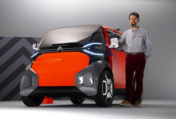 Citroën Ami One Concept : la mobilité urbaine électrique revisitée