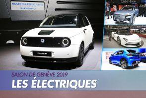 Les nouvelles voitures électriques