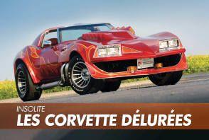 Chevrolet Corvette : les modèles rares et insolites
