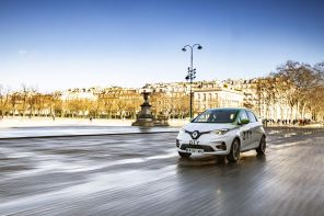 renault zoe paris