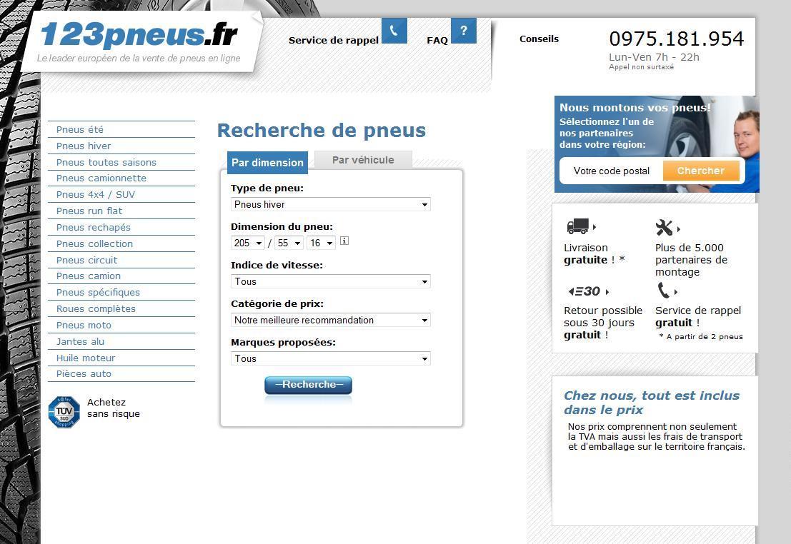 123pneus se trouve un 5000e garage partenaire l 39 argus - Les sites de vente en france ...