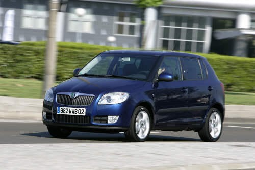 skoda fabia ii l 39 argus. Black Bedroom Furniture Sets. Home Design Ideas